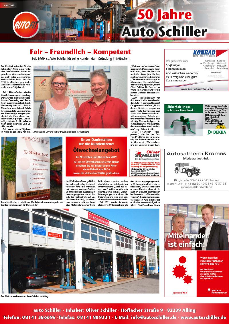 50 Jahre autoSchiller - Kreisbote FFB